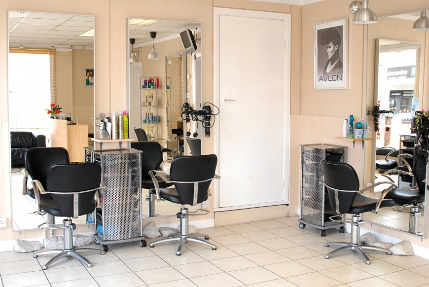equipment to hair salon